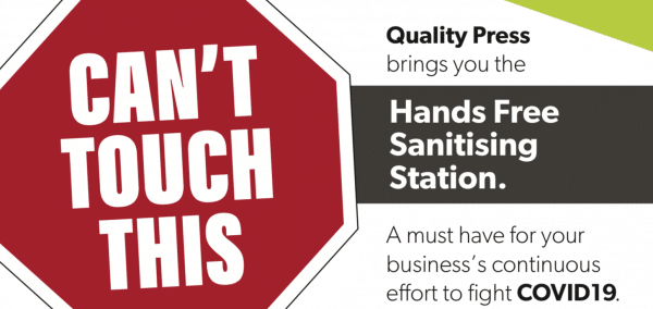 Hands Free Hand Sanitising Station